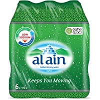 Al Ain Bottled Drinking Water - 1.5 litres (Pack of 6)