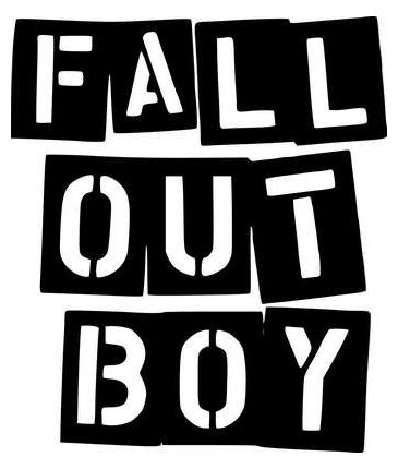 Fall Out Boy Rock Band - Sticker Graphic - Auto, Wall, Laptop, Cell, Truck  Sticker for Windows, Cars, Trucks