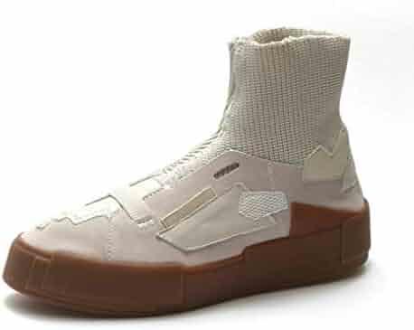 27eea2da0c97 BMTH Women Platform Ankle Boots Comfort Footwear Flat Heels Short Bootie  Leisure Slip On Western Boots