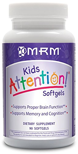Mrm Attention Softgels, 90 Count (Best Natural Adhd Supplements)
