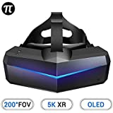 Pimax 5K XR OLED VR Virtual Reality Headset with Wide 200°FOV, Dual 2560x1440p OLED Panels & 6 DOF Tracking, 1-Year…