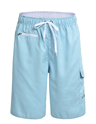 nonwe-mens-beachwear-swimming-trunks-quick-dry-zipper-pockets-with-lining-blue-38