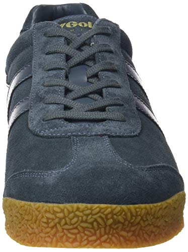 Gola graphite Uomo Grey Suede Sneaker graphite Hg gum Harrier BBUgR