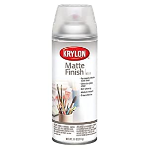 KRYLON DIVERSIFIED BRANDS K01311007 Krylon 1311 Aerosol Matte Satin Finish Spray Enamel 11 Ounce