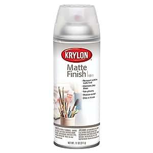 KRYLON DIVERSIFIED BRANDS K01311007 Krylon 1311 Aerosol Matte Satin Finish Spray Enamel 11 Ounce
