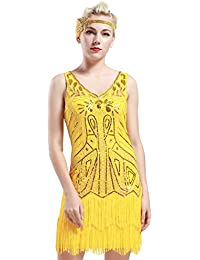 Casual Yellow Dresses for Misses