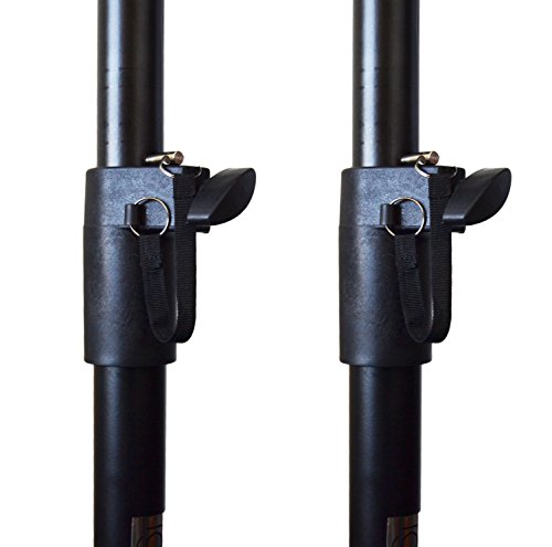 Pair of Ignite Pro Heavy Duty Near-Field Studio Monitor Speaker Stands Adjustable Height by Ignite Pro (Image #3)
