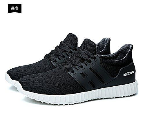 Spring and summer Outdoor Leisure Shoes Slippery Wear-resisting Lightweight Breathable Casual Shoes Black Jt2sU