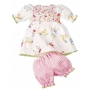 Käthe Kruse 33900  - Ropa Baby Doll 38-43 cm flores