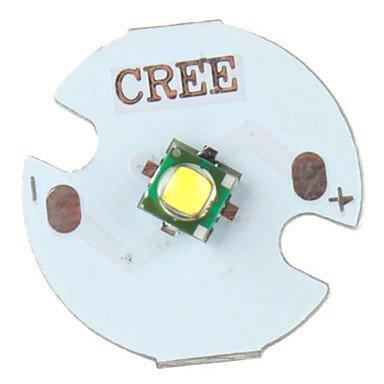 Component LEDs - DIY CREE 5W 356LM 2800-3200K Warm White Light LED Emitter with Aluminum Base (3.2-3.6V)