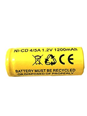 1.2v 1200MAH Lithonia Ni Cd Exit Sign Battery Replacement