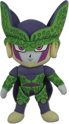 Great Eastern Animation Dragon Ball Z GE 52966 Perfect Cell Stuffed Plush, 8""