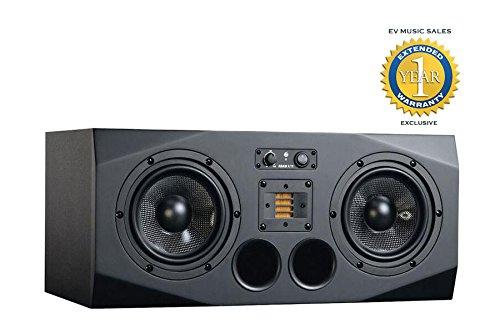 Adam Studio Monitors (Adam Audio Single A77X Right 3-Way Active Studio Monitor A77X-B)