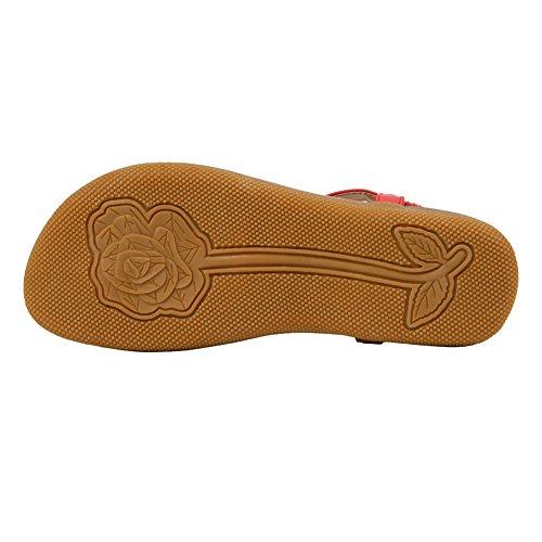 YoMarket Sandalias de Caucho Para Mujer Rosa