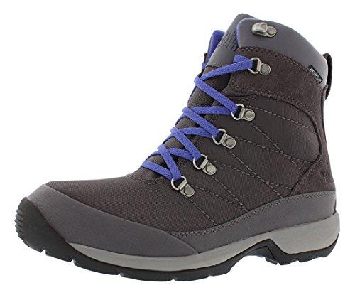 (The North Face Chilkat Nylon Boots - Women's Plum Kitten Grey/Blue Iris 6)
