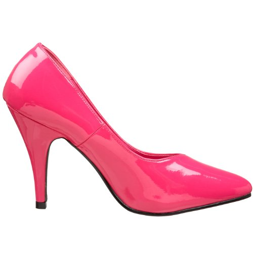 Pleaser Pink Label Dream-420w, Damen Pumps, Rosa (Rosa (H. Pink Pat)), 41 EU (8 UK)
