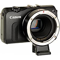 VILTROX EF-EOS M Lens Mount Auto Adapter - Canon EOS (EF/EF-S) D/SLR Lens to Canon EOS M (EF-M Mount) Mirrorless Camera Body EOS M100 M50 M3 M10 M6 M5 - with Full Automated Functions