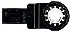 Bosch Professional Starlock - Hoja de sierra de inmersión para madera y metal, BIM AIZ 20 AB, 20 x 30 mm