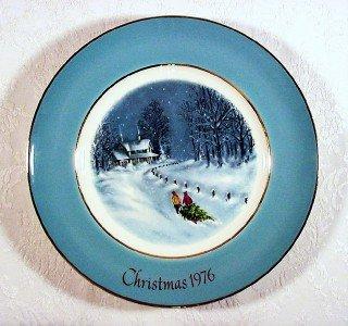 Avon Christmas Plate 1976