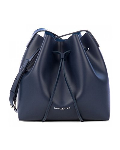 lancaster-paris-womens-42310bluefonce-blue-leather-shoulder-bag
