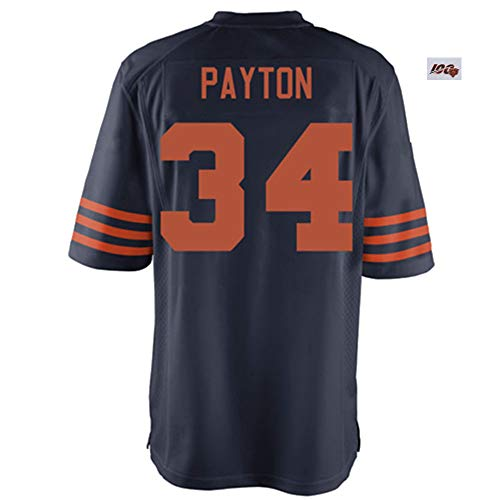 Melissa Verne_Men/Women/Youth_Walter_Payton_Navy_100th_Anniversary_Throwback_Game_Jersey ()