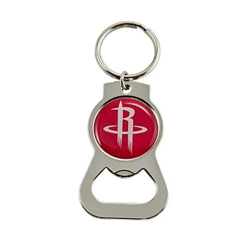 fan products of NBA Houston Rockets Bottle Opener Key Ring