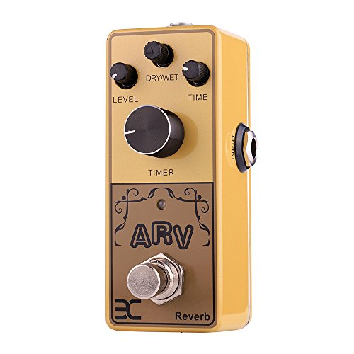 EX Mini Size Acoustic Guitar Digital Reverb Effects Pedals, Single Effects by EX