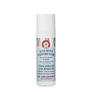 First Aid Beauty Ultra Repair Hydrating Serum, White, 1.0 Fluid Ounce