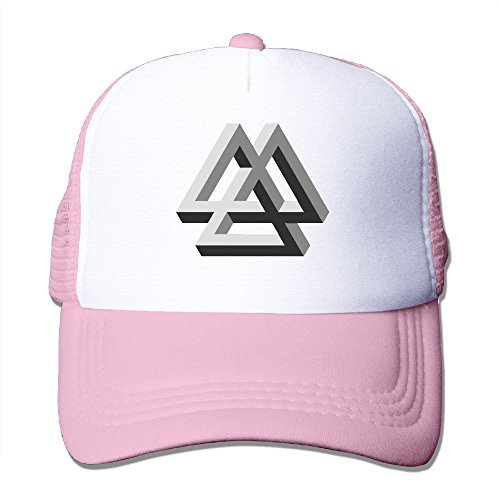 Texhood 3D Valknut Cool Cap Hat One Size Pink