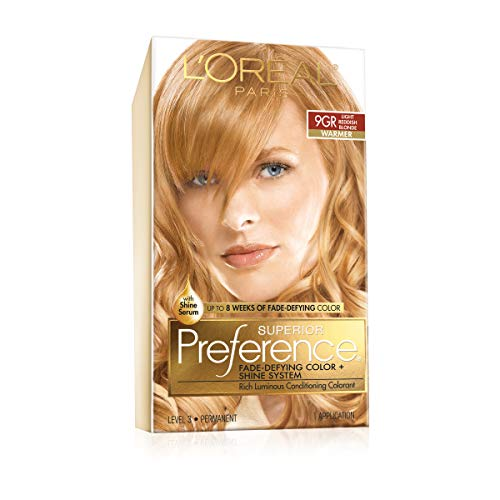 9gr Light (L'Oreal Superior Preference - 9GR Light Reddish Blonde (Warmer) 1 Each (Pack of 3))