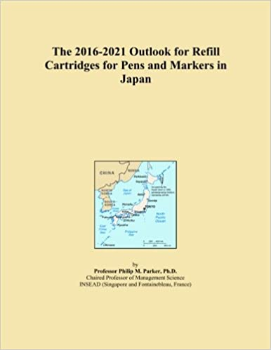 The 2016-2021 Outlook for Refill Cartridges for Pens and Markers in Japan