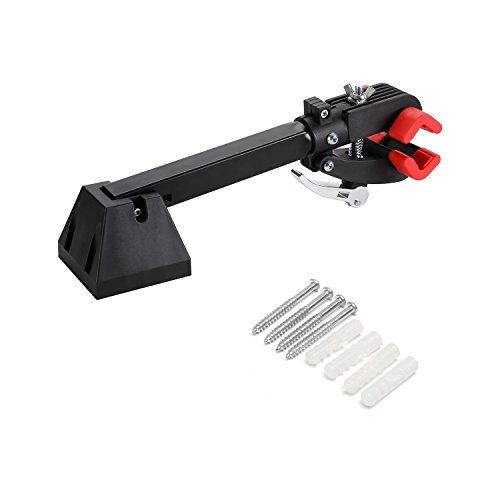 Gharpbik Workstands Bike Repair Stand Tool-Bike Wall Mount Bicycle Stand with Quick Release Adjustment Clamp Bicycle Stand Wall Mounted Foldable Maintenance for Garage or Home(Model:TQXL-06-I by Gharpbik (Image #1)