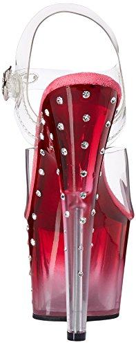 Clr des Pink Pleaser Clr Sandales Femme Stardust 708t Transparent 00nwq87E