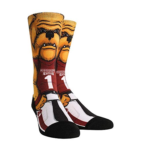NCAA Super Premium College Fan Socks (L/XL, Mississippi State Bulldogs - Mascot)