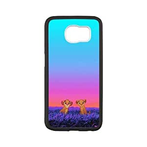 WEUKK Lion King Samsung Galaxy S6 phone case, diy phone case for Samsung Galaxy S6 Lion King, diy Lion King cover case