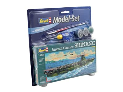 Model Kit - Aircraft Carrier Shinano Model Set - 1:1200 Scale