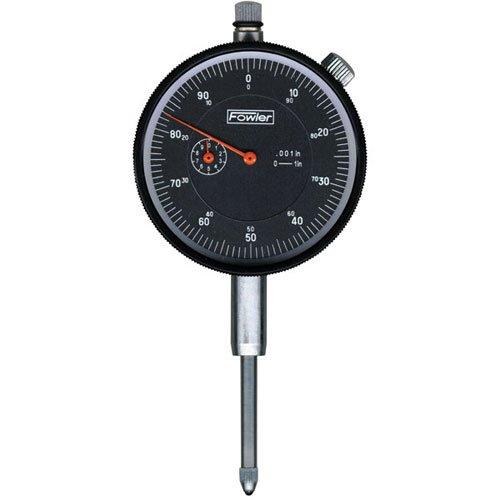 Fowler 52-520-109 AGD Dial Indicator, Black Face, 1