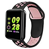 Lintelek Smart Watch, Fitness Tracker with Heart Rate Monitor, Sleep Monitor, Blood Pressure Monitor,IP67 Waterproof Activity Tracker, Pedometer Smartwatch Compatible with iOS Android Phones