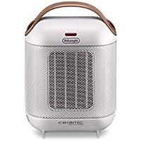 Delonghi HFX30C15.W Capsule Ceramic Heater, White