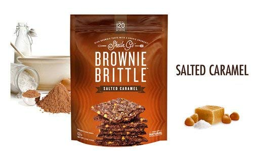Sheila G's Brownie Brittle 5oz Bag (Variety 3 Pack (Mint Chocolate Chip/Toffee Crunch/Salted Carmel))