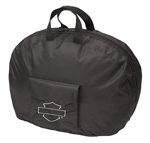 Harley Davidson Half Helmet Bag Drawstring, Black, One Size ()