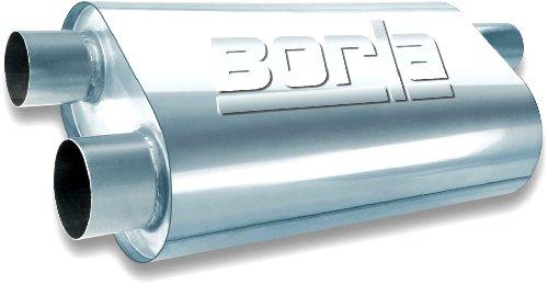 Borla 40477 Universal Transverse Flow Muffler