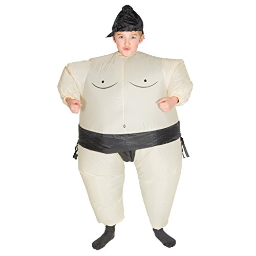 Bodysocks - Inflatable Ride Me Children's Carry On Animal Fancy Dress Costume (Sumo)