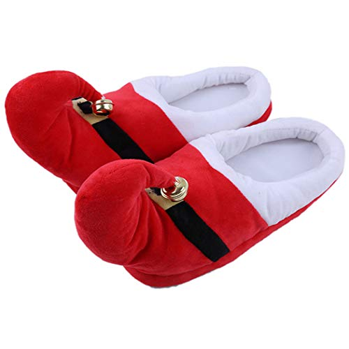 Nafanio Winter Slipper Boots Couple Kids Family Warm Cotton Soft Thicken Home Fashion Indoor Festival Shoes