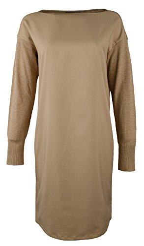 Lauren Ralph Lauren Women's Petite Farheen Twill-Front Sweater Dress-HH-PS by Lauren by Ralph Lauren