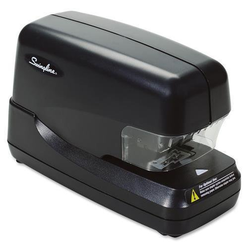 "69270 Swingline High-Capacity Flat Clinch Electronic Cartridge Stapler - 70 Sheets Capacity - 5000 Staples Capacity - 1/4"" Staple Size - Black"
