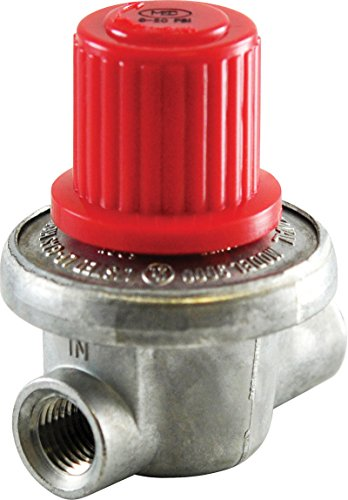 "0-10psi Compact Adjustable Regulator Propane Natural Gas 1/4"" NPT 1.2m BTU Air"