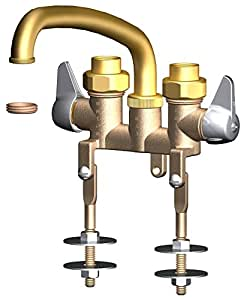 Union Brass 44 Two Handle Laundry Faucet