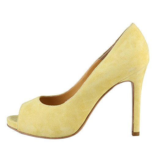 Erminia Toe Tree Made Lemon Italia In Women's Peep OwpfExp