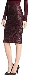 Mélange Stretch Sequin Skirt
